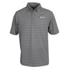 GRAY STRIPE POLO